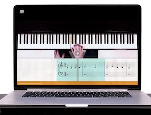 Klavier lernen auf computer